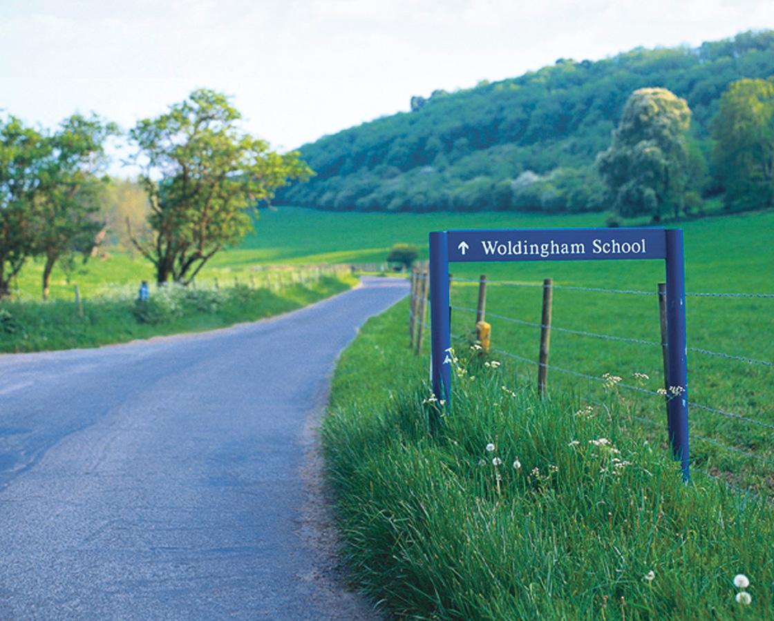 Woldingham sign