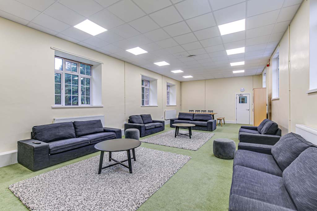 Residential - South wing recreation room